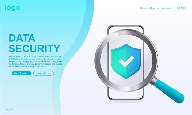 Bestätigtes symbol im feld zum laden der seite website genehmigtes symbol genehmigtes, verifiziertes und geschütztes symbol