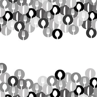 Besteck symbol bild