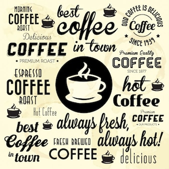 Besten kaffee in der stadt hintergrund