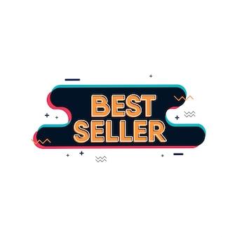 Bestseller designvorlage. design für banner oder druck.