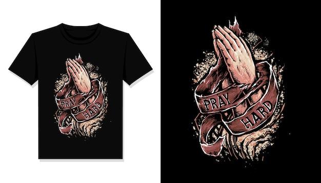 Bete hart illustration t-shirt