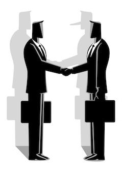 Betrugsabkommen konzept