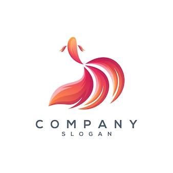 Betta fisch logo design