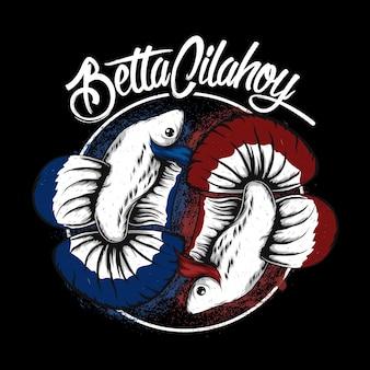 Betta fisch logo