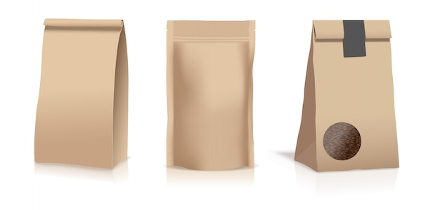 Beutel aus lebensmittelpapier