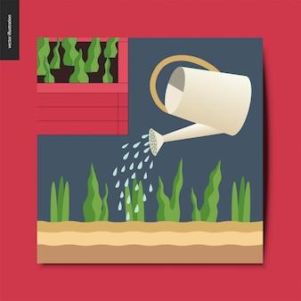 Bewässerungskarte