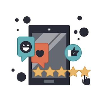 Bewertung und feedback