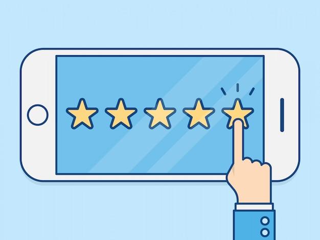 Bewertungsbewertung
