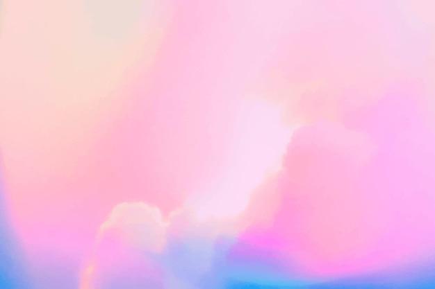 Bewölkter pastellhintergrund