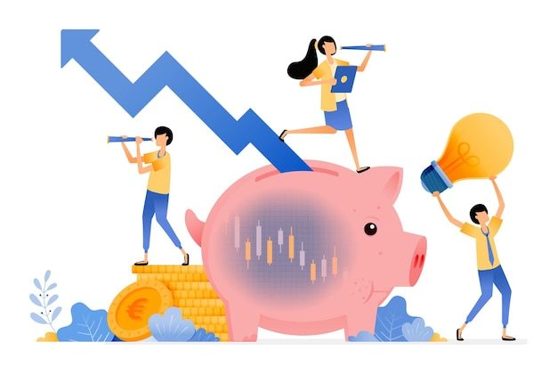 Bewusstsein für aktiensparende investitionen