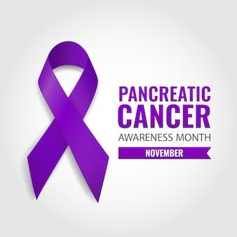 Bewusstsein für bauchspeicheldrüsenkrebs
