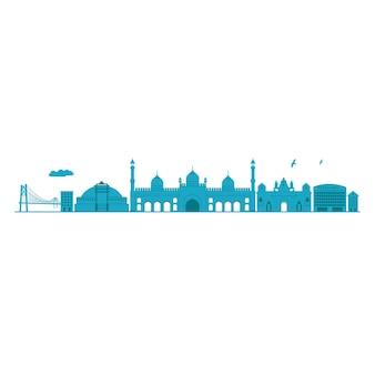 Bhopal skyline