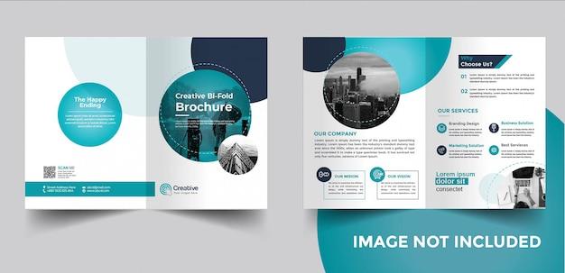 Bi-fold-broschüre