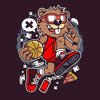 Biber-basketball