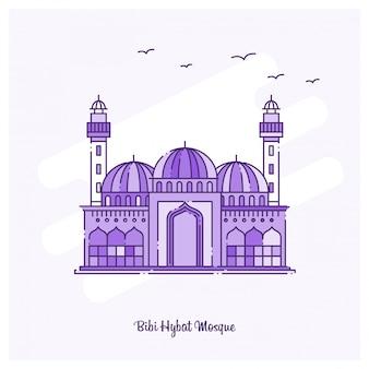 Bibi hybat mosque wahrzeichen