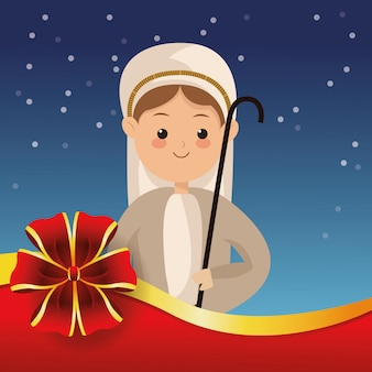 Biblisches weihnachten im zusammenhang mit ikonen bild