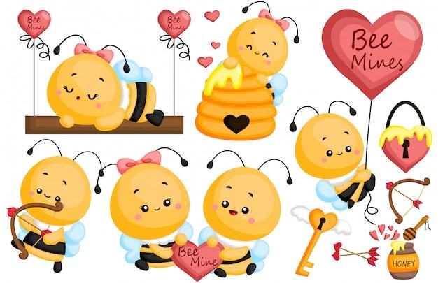 Biene in liebe