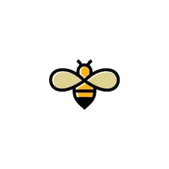 Biene konzepte logo