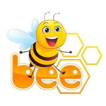 Bienen-maskottchen