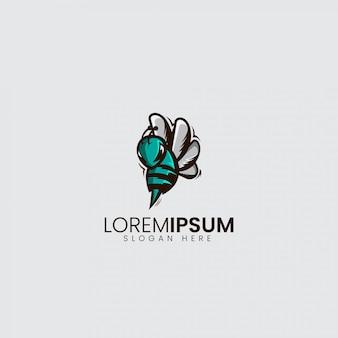 Bienen-verärgertes logo