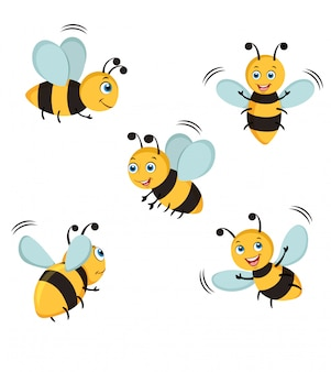 Bienenillustration