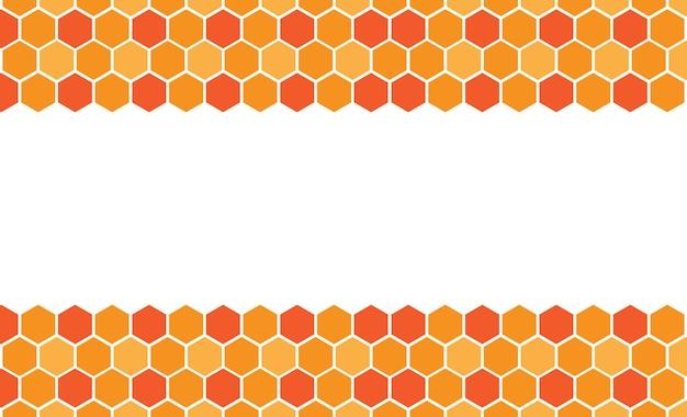 Bienenwabe hintergrundbild vetor image