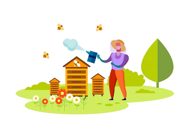 Bienenzucht, beruf, honey eco food