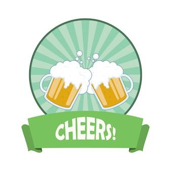 Bier-abzeichen-design