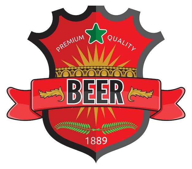 Bier etikettendesign