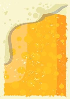 Bier hintergrund hautnah