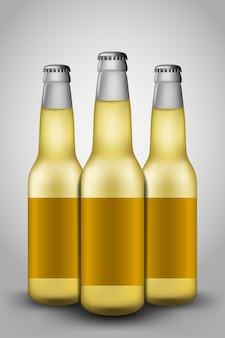 Bierflasche glas
