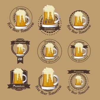 Bierfreies etikett