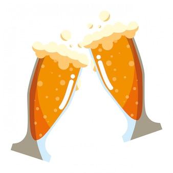 Biergläser design
