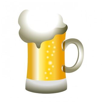 Bierglas kalt