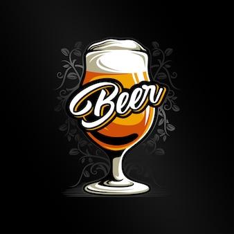 Bierglas vektor