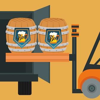 Bierindustrie design