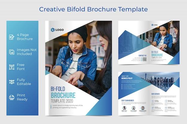 Bifold broschürenvorlage