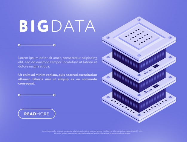 Big data element design