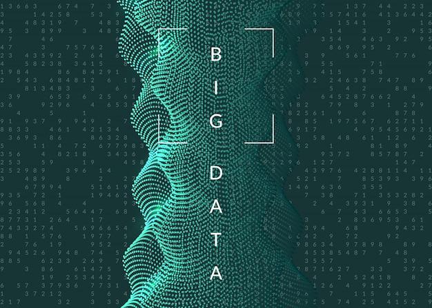 Big data hintergrund.