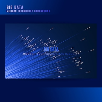 Big data konzept hintergrund