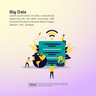 Big data-konzept