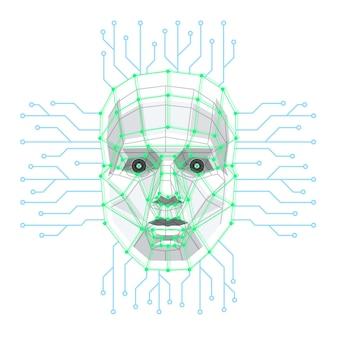 Big data und künstliche intelligenz konzept