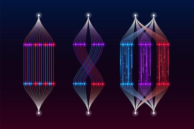 Big-data-visualisierung mit maschinellem lernalgorithmus