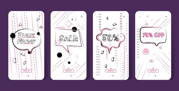 Big sale banner black friday collection sonderangebot promo marketing urlaub shopping