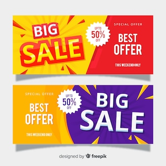Big sale banner vorlage