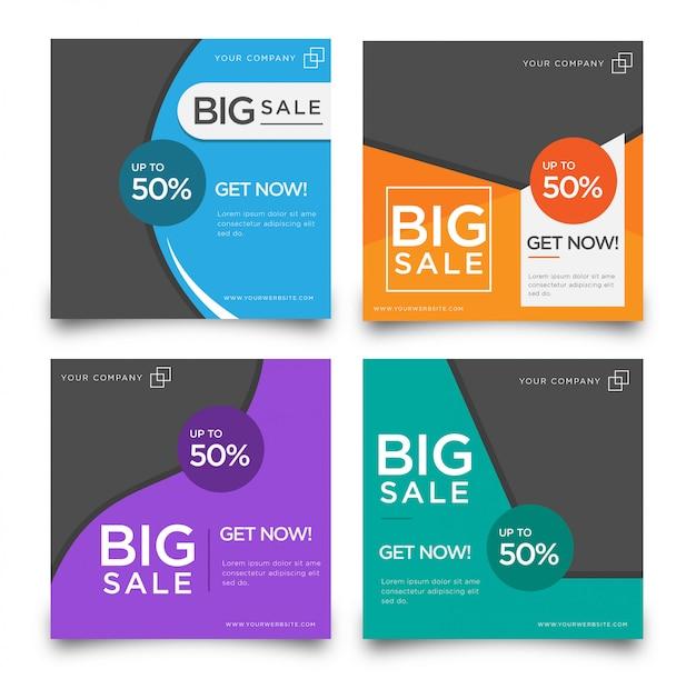Big sale promotion banner