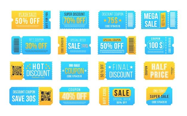 Big sale und super sale coupon rabatt. vintage kinokarte konzert und festivalveranstaltung, kino-gutschein. angebot zum halben preis