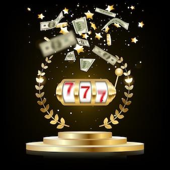 Big win slots 777 banner casino.