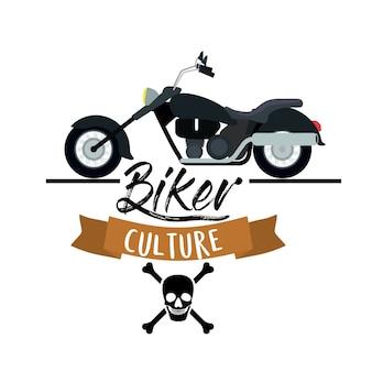 Biker-kultur-poster