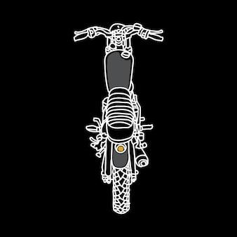 Biker rider motorrad wild illustration art design